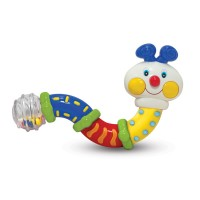 Twisting Inchworm Baby Rattle