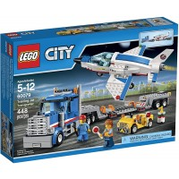 Lego City Space Port 60079 Training Jet Transporter Building
