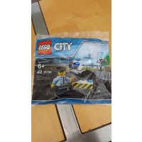 Lego City 6182882 Police Road Block 48
