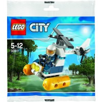 Lego City Swamp Police Helicopter Set 30311