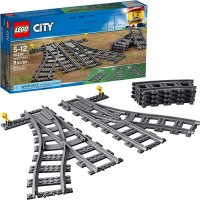 Lego City Switch Tracks 60238 Building Kit 8 Pieces Pack Of