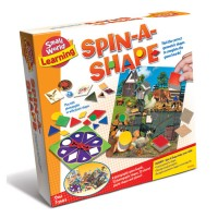 Spin a Shape Geometric Shapes Matching Game