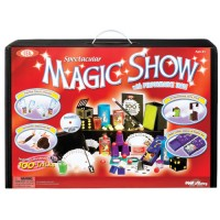 Kids Deluxe Magic Show Kit 100 Tricks Suitcase