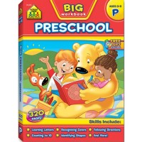 Big Preschool Workbook - 320 pages