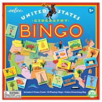 United States Bingo Geography Game