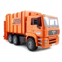 Bruder Deluxe Toy Garbage Truck - Orange