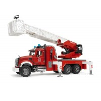 Bruder Fire Engine with working Water Pump and 4 foot ladder