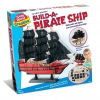 Toy Pirate Ship Playset