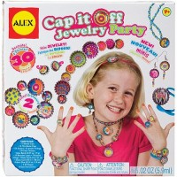 Cap It Off Jewelry Party Craft Kit