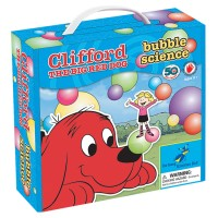 Bubble Science Clifford the Big Red Dog Preschool Science Kit