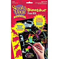 Dinosaur Scratch Art Craft Kit