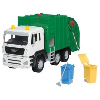 Driven Recycling Truck Realistic Lights & Sounds Large Toy Vehicle