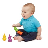 Farm Friends Pop Together Beads Baby Toy