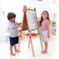 All in 1 Adjustable Height Standing Art Easel Set
