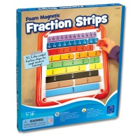 Learn Fractions Foam Magnetic Math Set