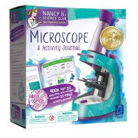 Microscope and Activity Journal Science Set