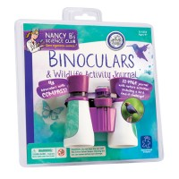 Binoculars & Wildlife Activity Journal Science Set