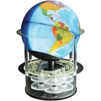 Night and Day Time Zone Globe