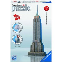 Empire State Building 216 pc 3D Buildings Puzzle