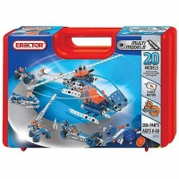 Erector 20 Model Case 260 pc Building Set