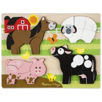 Farm Chunky Jigsaw 20 pc Puzzle