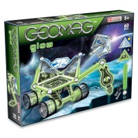 Geomag Glow Moon Explorer 60 pc Magnetic Building Set