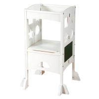 Kitchen Helper Stand - White