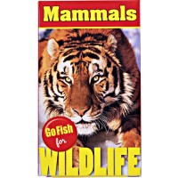 Go Fish for Wildlife Card Game - Mammals