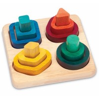 Gradient Sorter Wooden Learning Toy