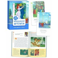Impressionists Artists Go Fish Card Game & Book
