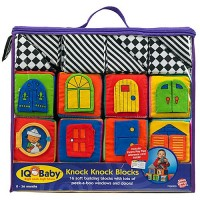 Knock Knock Blocks Soft Baby Blocks Set