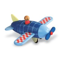 Airplane Magnetic Wooden Toy