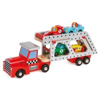 Story Car Transporter Lorry Wooden Truck
