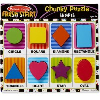 Shapes Chunky Wooden Puzzle