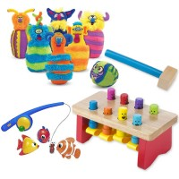 Toddler Motor Skills Kit of 3 Toys for 18-36 months