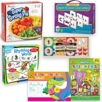Kindergarten Readiness Math & Reading Teaching Toys Kit