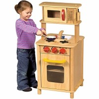 Kids Compact Play Kitchen Center - Kitchenette