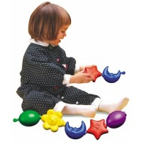 Quercetti Pop Link Shapes Linking Toy