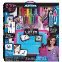 Project Runway 4-in-1 Light Box Fashion Design Studio Craft Set