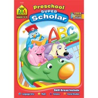 Preschool Super Scholar 128 Pages Workbook