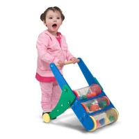 Rattle Rumble Toddler Push Toy Cart
