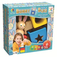 Bunny Peek a Boo First 3D Puzzle Game