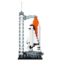 Nanoblock Building Set - Space Shuttle