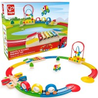 Sights & Sounds Railway Toddler Train Set