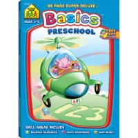 Preschool Basics 96 Pages Activity Deluxe Workbook