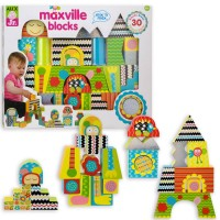 Maxville Blocks 30 pc Baby Wooden Building Blocks