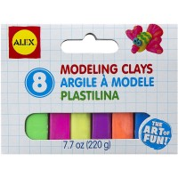 Modeling Clay 8 Colors Set