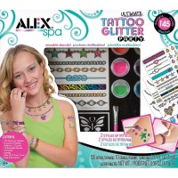 Ultimate Tattoo Glitter Party Girls Craft Kit