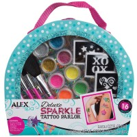 Deluxe Sparkle Tattoo Parlor Girls Craft Kit