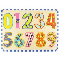 123 Numbers 10 pc Wooden Puzzle